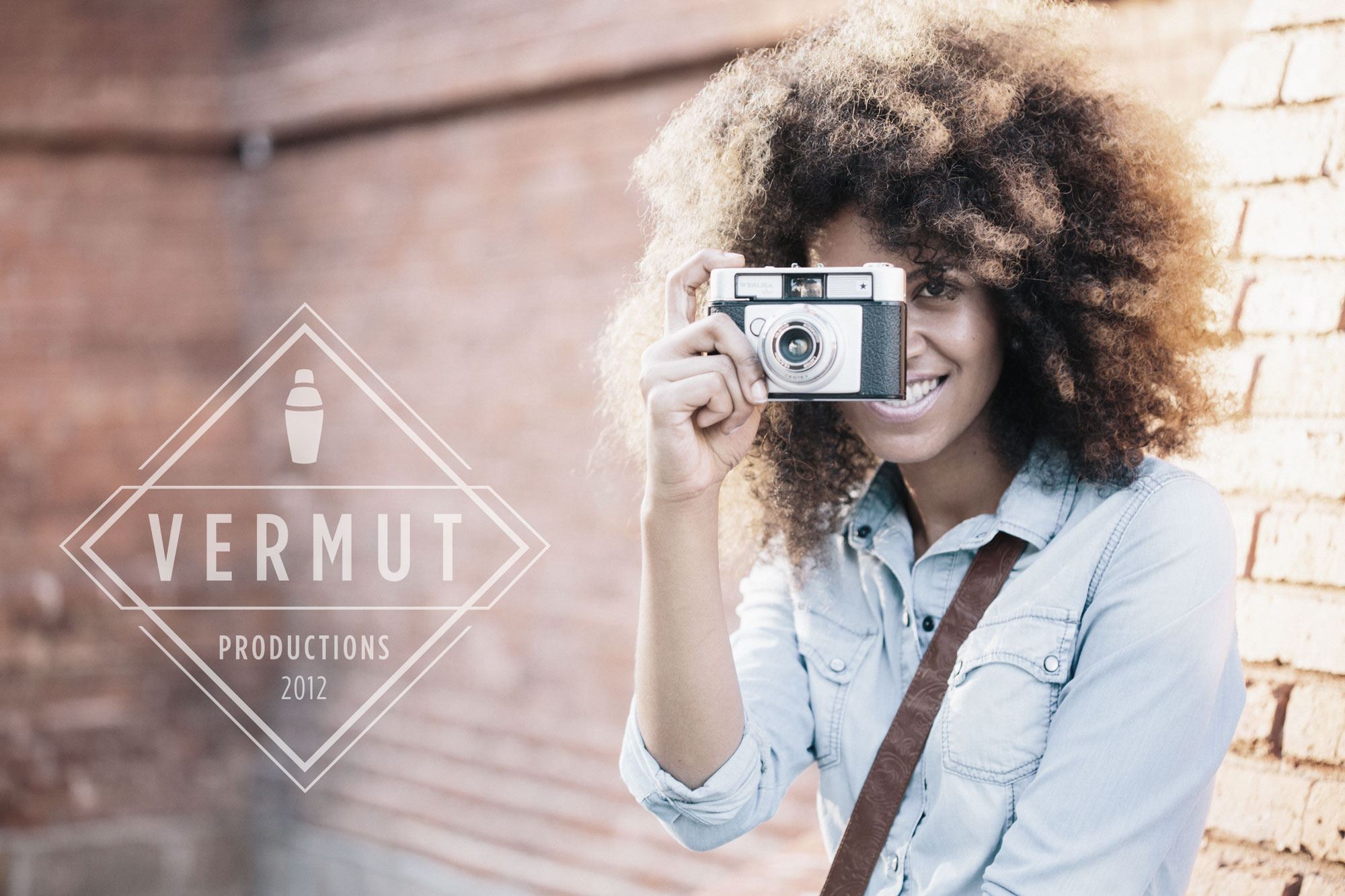 Vermut Productions Selfie with logo
