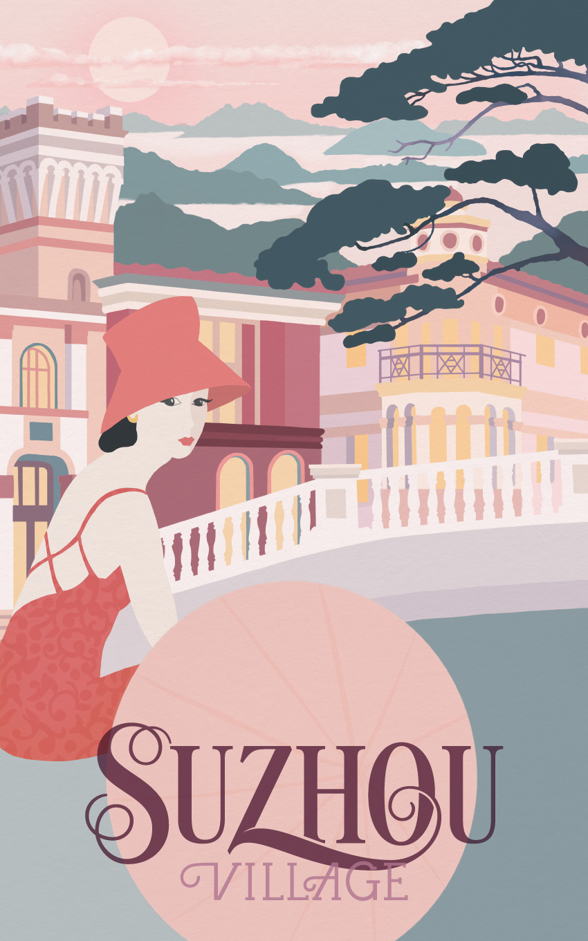 SUZHOUTRAVEL POSTER 1 - VALUE RETAIL - THE TRAVEL POSTERS